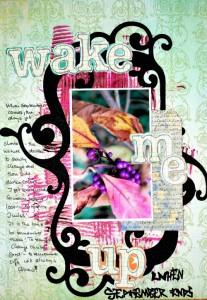 Wake Me Up Scrapbook