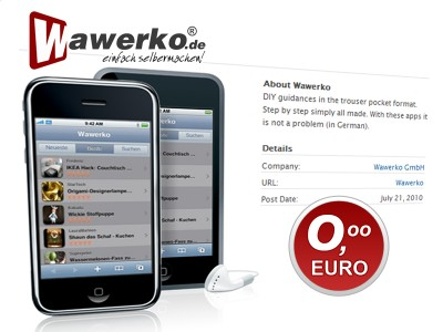 Wawerko iPhone App